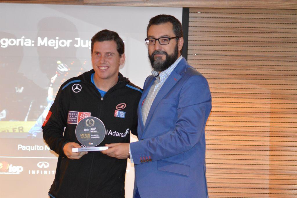 Paquito Navarro - World Padel Awards