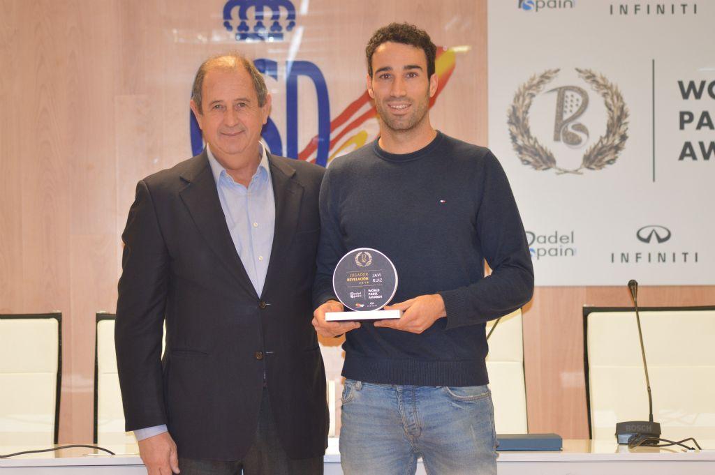 Javi Ruiz - World Padel Awards