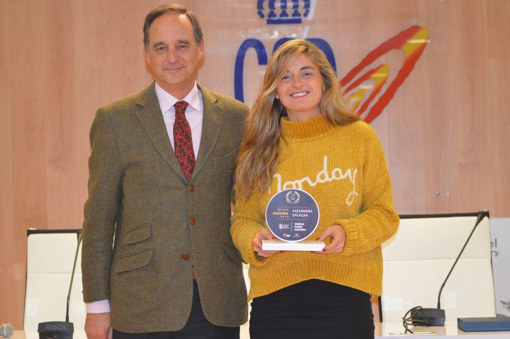Alejandra Salazar - World Padel Awards