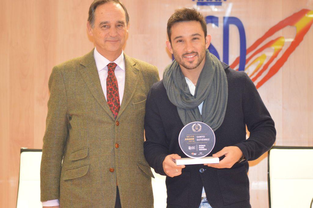 Sanyo Gutiérrez - World Padel Awards