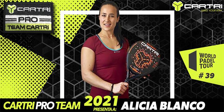 Alicia Blanco - Cartri Team