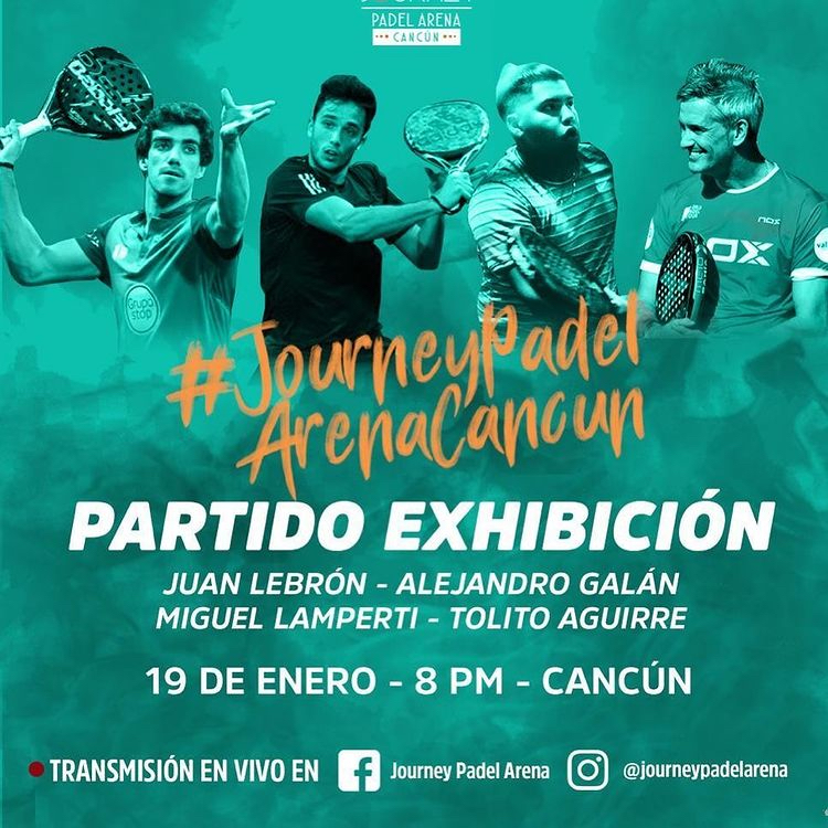 Exhibición Journey Padel Arena