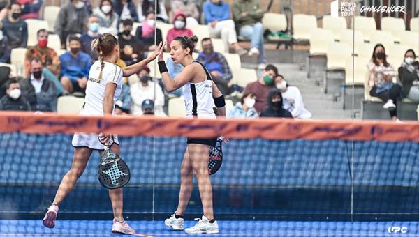Mari Carmen Villalba y Carla Mesa semis Lerma Challenger 2021