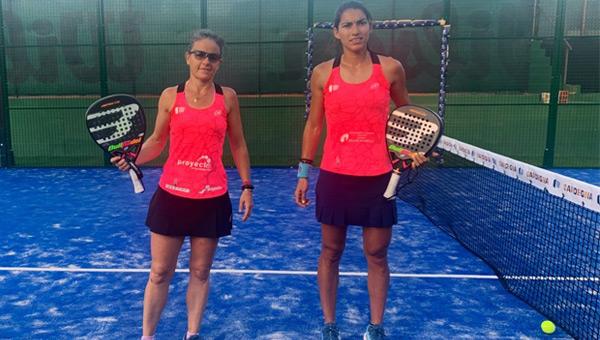 Cata Tenorio y Julieta Bidahorria previas Cerde
