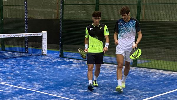 Iván Ramírez y Arturo Coello previas Cerdeña Open