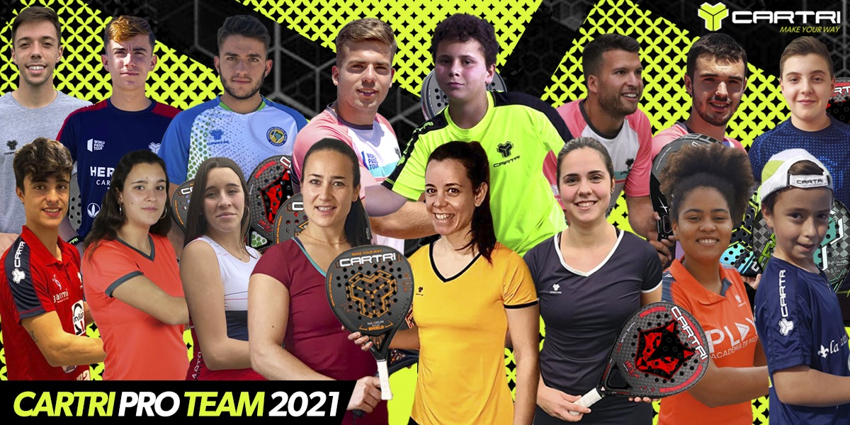 Equipo profesionales Cartri 2021
