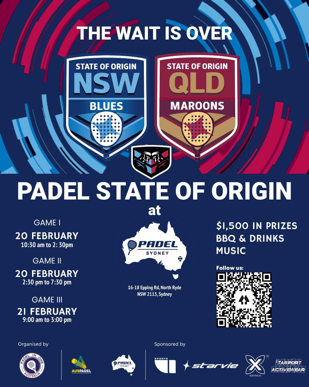 турнир Padel State of Origin в Австралии