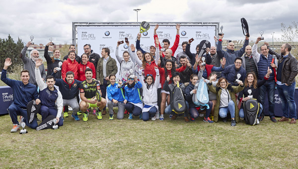 Ganadores Club Raqueta de Valladolid BMW Padel Grand Tour