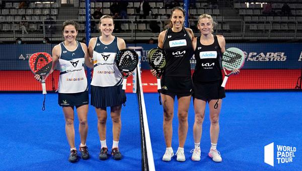 Inicio final femenina Alicante Open