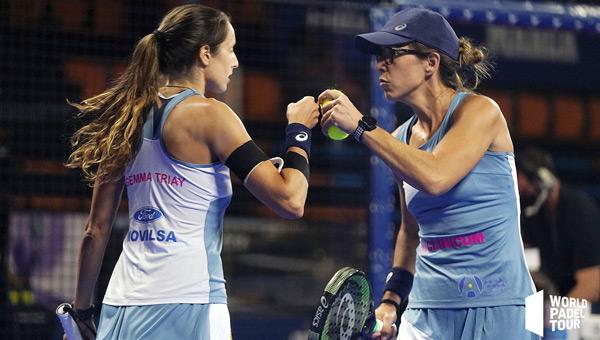 Semifinal femenina Menorca Gemma Triay y Luc