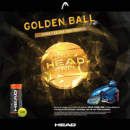Promoción HEAD Golden Ball 2017