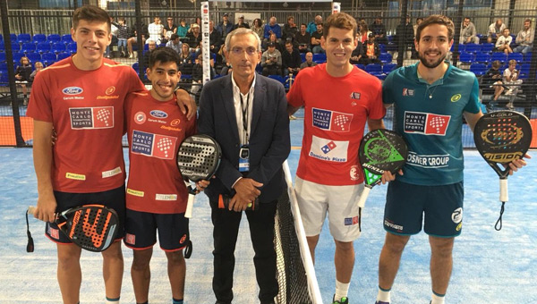 TELLO Y CHINGOTTO CAMPEONES EN PARIS