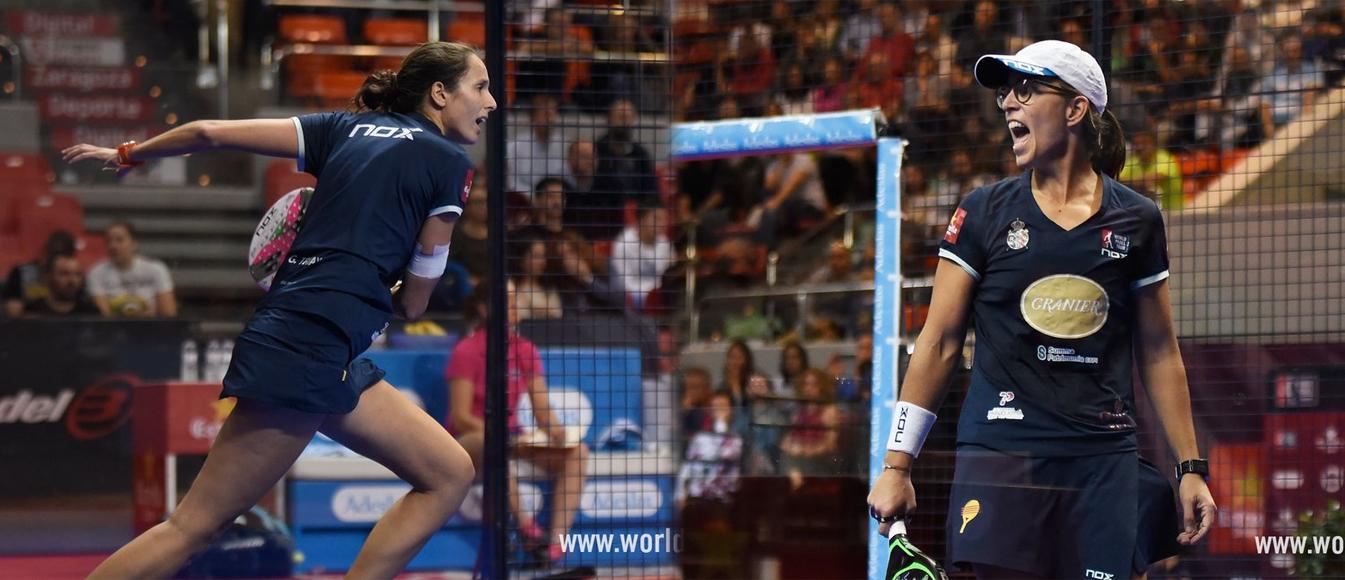 Lucía Sainz y Gemma Triay triunfo Zaragoza Open
