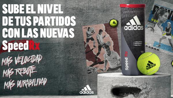 puesto Novela de suspenso Tomar medicina  Nuevas Speed RX de adidas padel: un cambio total en el concepto de las  pelotas de pádel