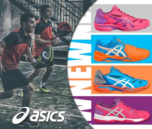 Zapatillas Asics 2017 dentro