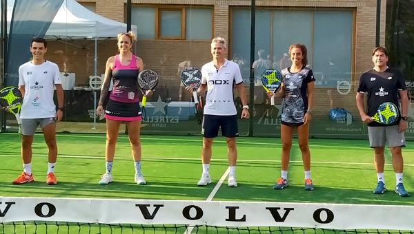 Jugadores patrocinio firma Volvo