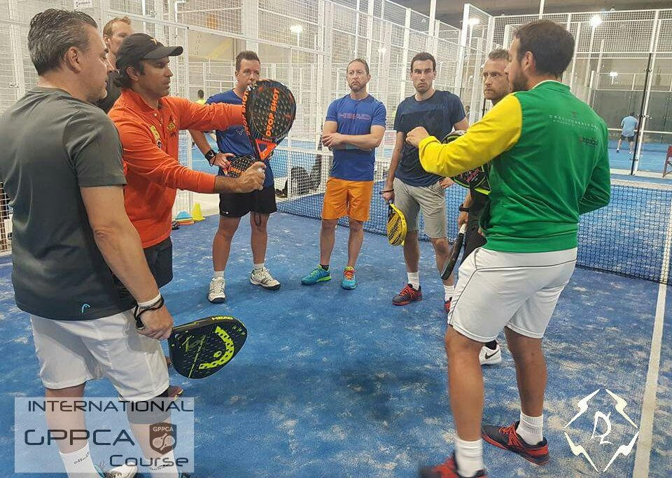 Curso Global Professional Padel Coach Association Barcelona mayo 2018
