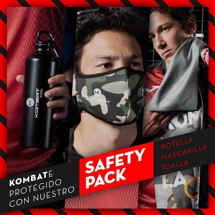 Safety Pack Kombat Padel