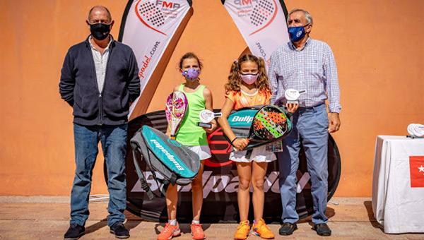 Torneo Bullpadel Menores FMP ganadores