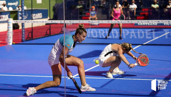 Victoria Iglesias y Aranza Osoro semis Marbella Master 2021
